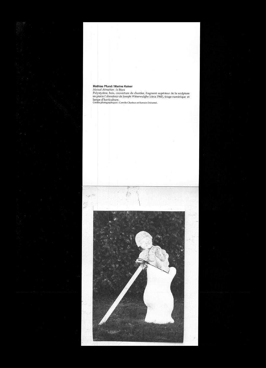 Catalogue Friche, 2017 - Marine Kaiser